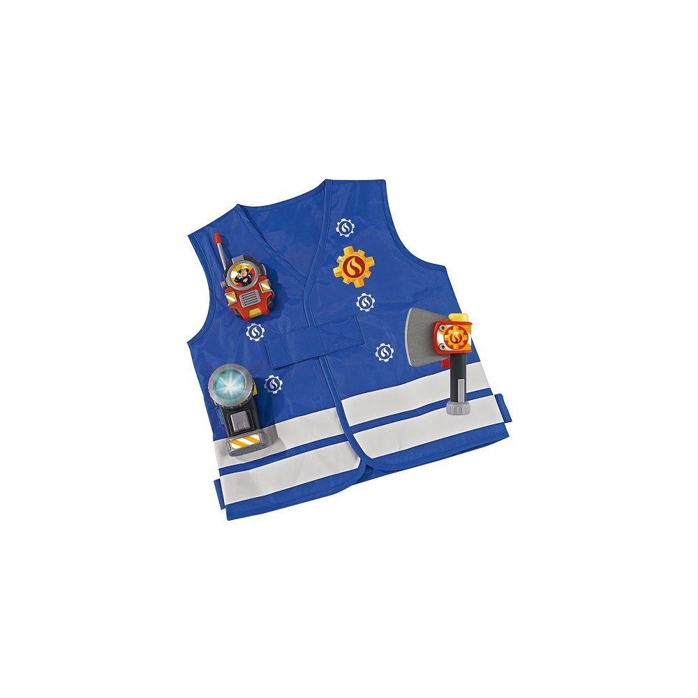 Simba SAM le pompier - Kit de pompier déguisement accessoires 3 ans+