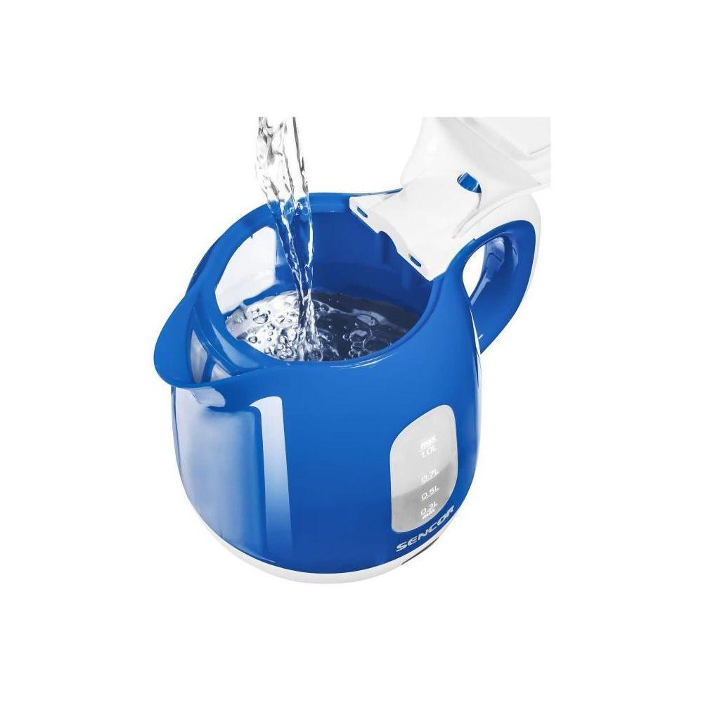Sencor SENCOR SWK 1012BL Bouilloire électrique - Bleu et blanc