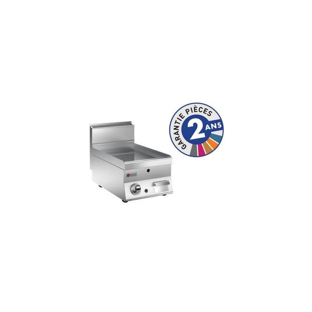 Baron Grillade électrique - Plaque lisse 22 dm² - Gamme 650 - Baron - Chromé 650