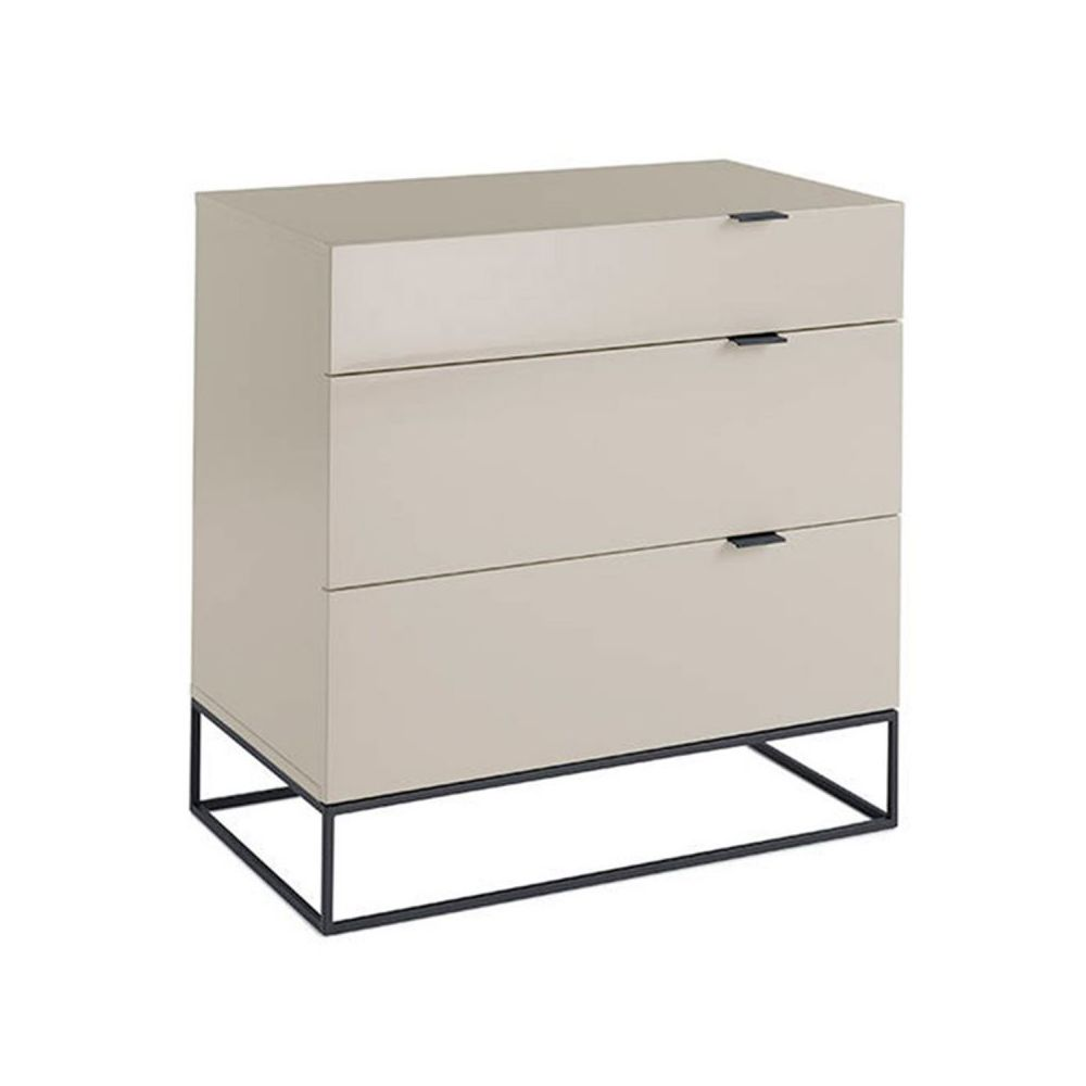 Paris Prix Commode Design Yugo 80cm Blanc