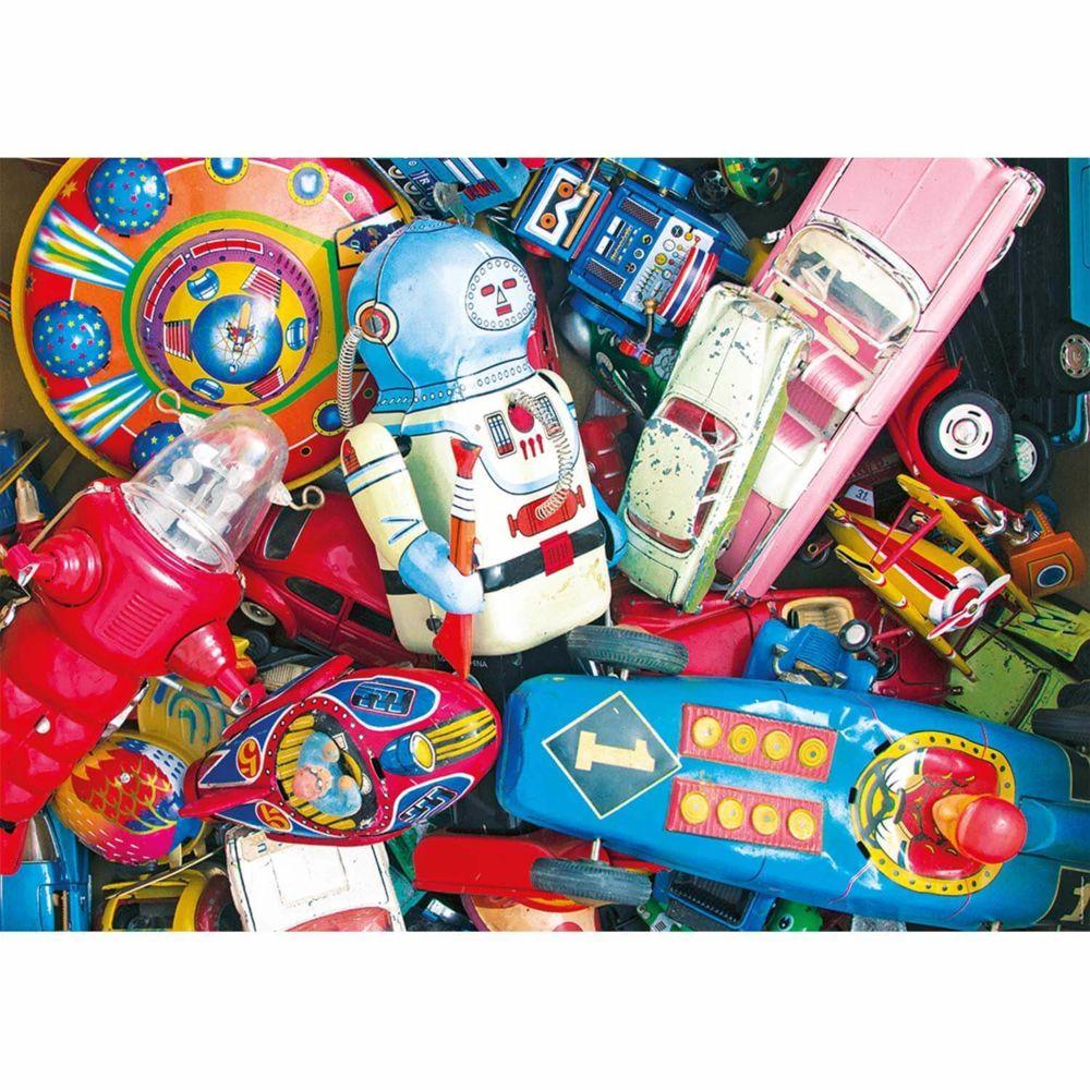 Nathan Puzzle 1500 pièces : Le coffre à jouets