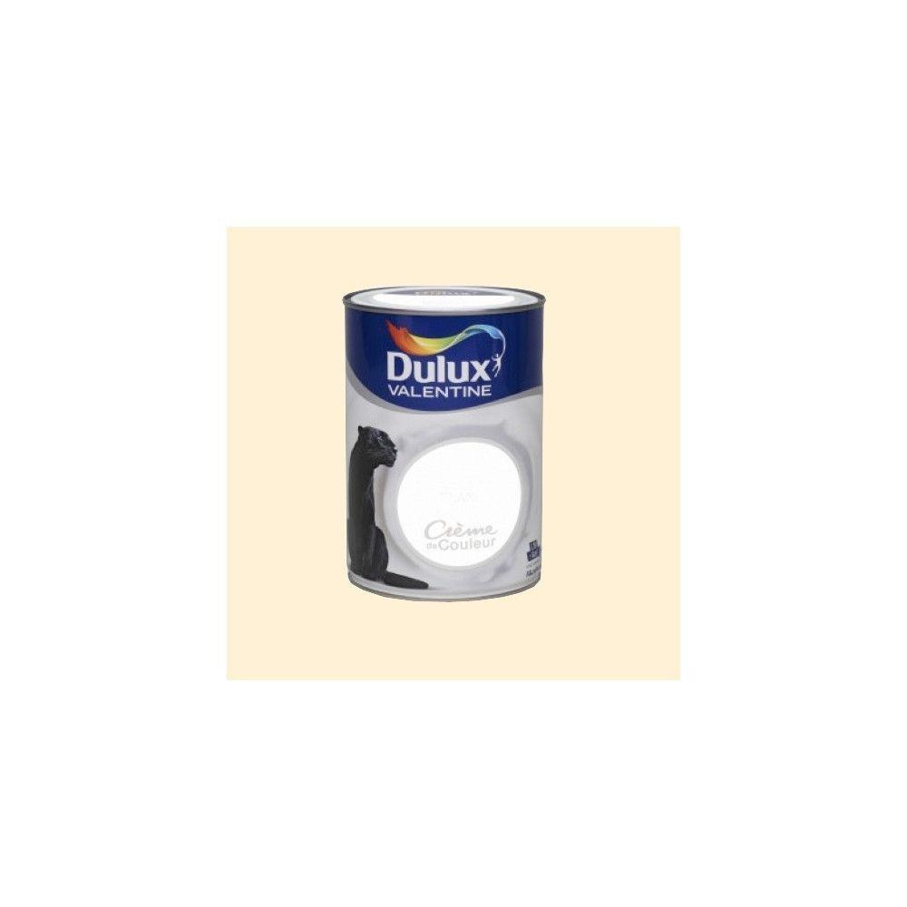 Dulux Valentine DULUX VALENTINE Peinture acrylique Crème de couleur Blanc cassé