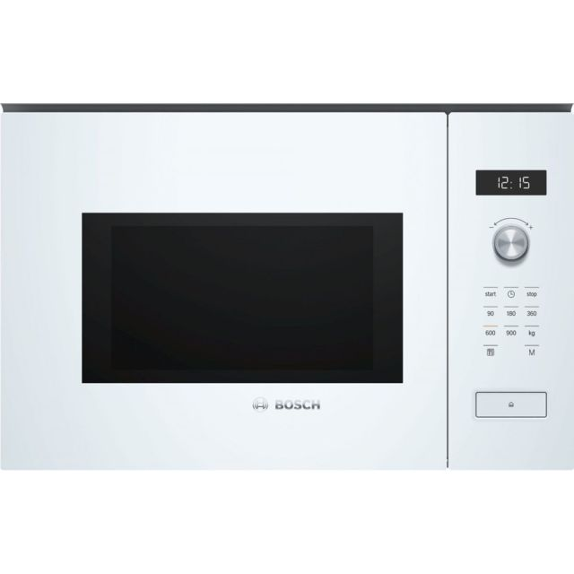 Bosch - Four micro-ondes BOSCH BFL 554 MW 0 - Encastrable - 25L - 900W - micro-ondes inox