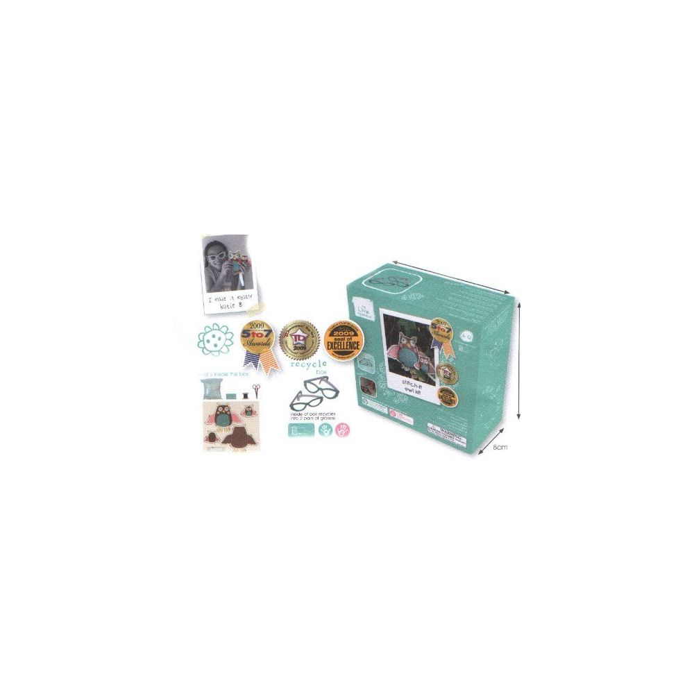 The Little Experience The Little Experience Stitch-it Owl Kit