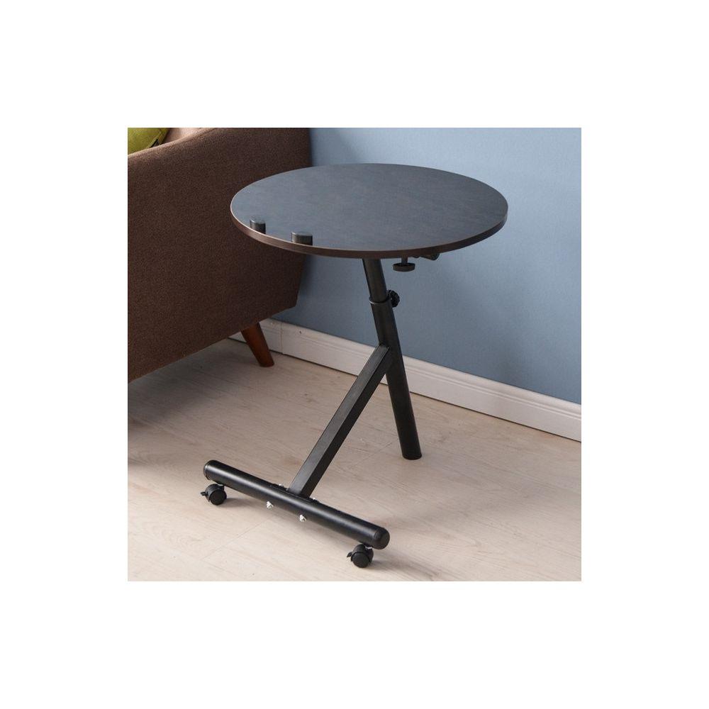 Wewoo - Table basse amovible de salon multifonctions moderne minimaliste  noir