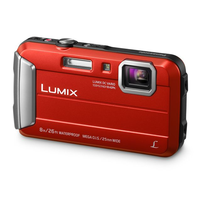 Panasonic - Appareil photo compact - Lumix FT30 rouge - Appareil compact