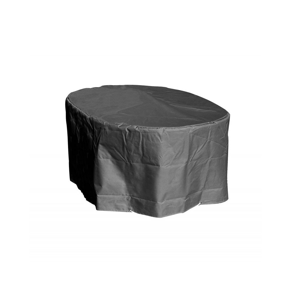 Green Club Housse table ovale L250xl110xh70 Anthracite