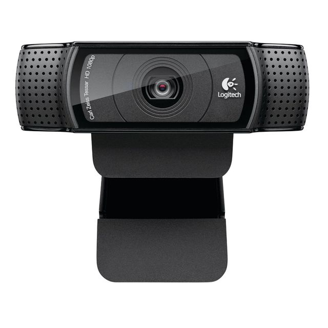 Logitech - HD Pro Webcam C920 Refresh Logitech   - Matériel Streaming