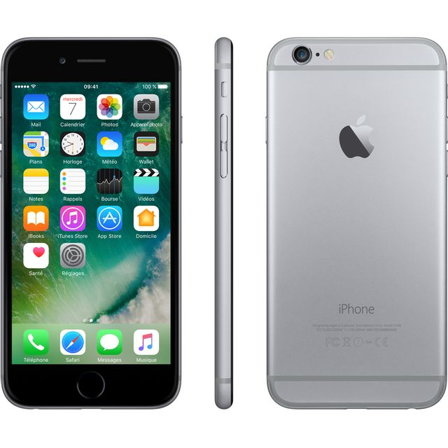 iPhone Apple iPhone 6 - 16 Go - Gris Sidéral - Reconditionné