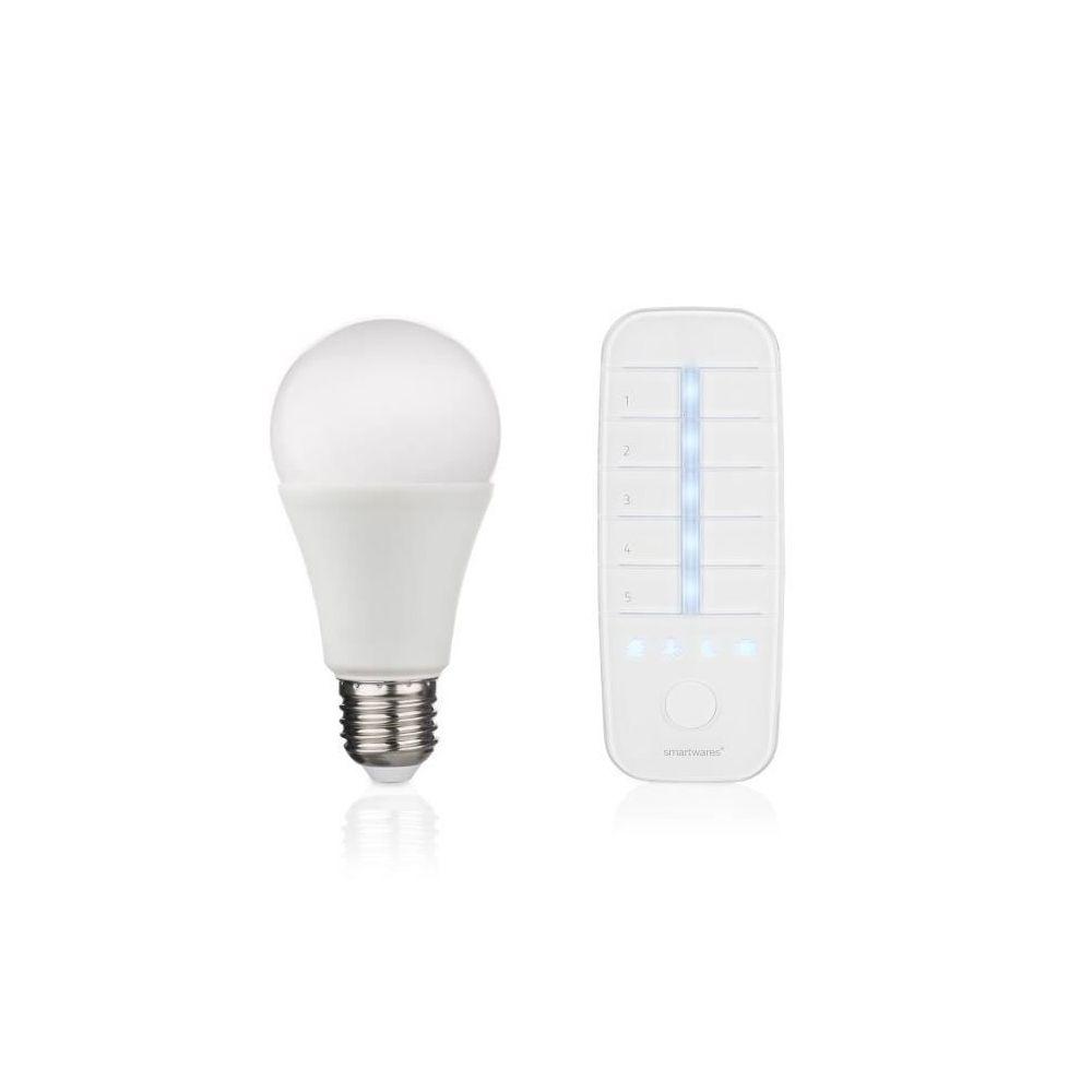 Smartwares SMARTWARES Ampoule LED Connectée E27 45 W avec Télécommande
