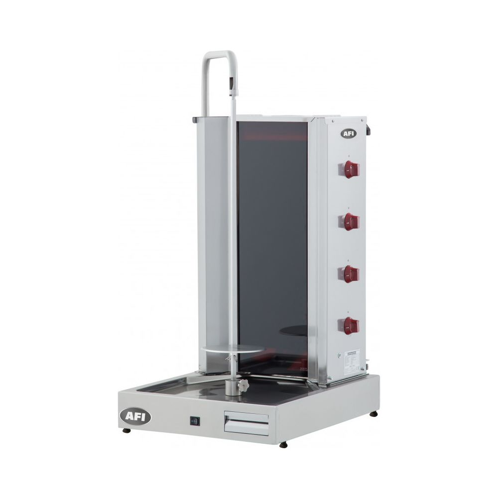 Materiel Chr Pro Döner Grill Électrique Capacité 80 kg - AFI Collin Lucy -