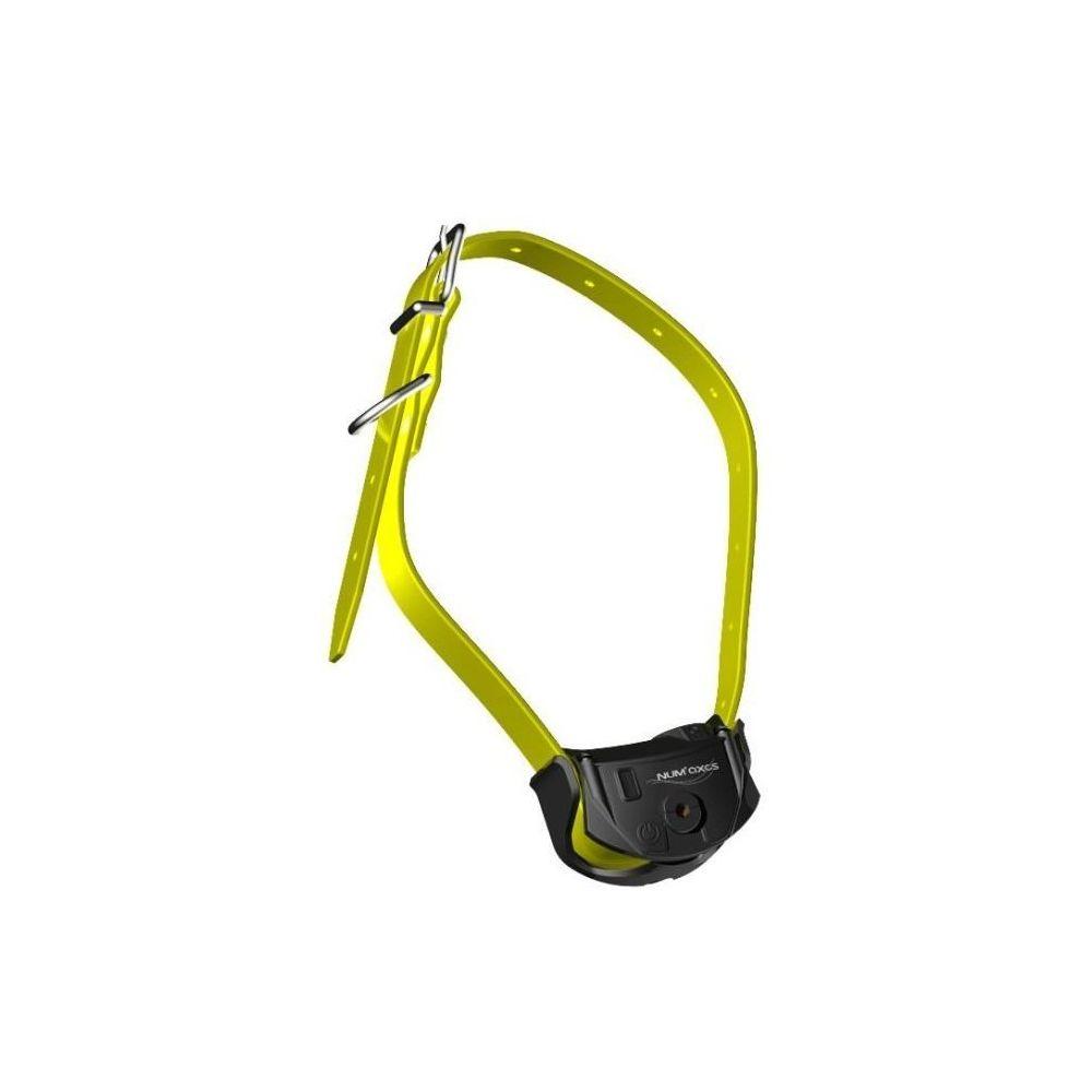 Num'Axes NUM'AXES Collier supplémentaire pour le Canicom Spray - Collier de dressage et d'éducation - Sangle jaune - Pour chien
