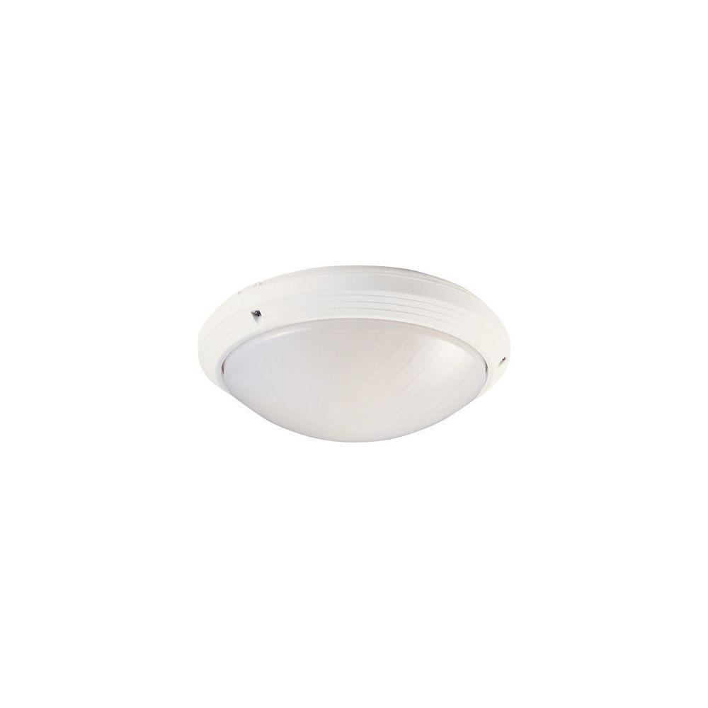 Aric hublot décoratif extérieur rond diamètre 270 mm aric 270t blanc