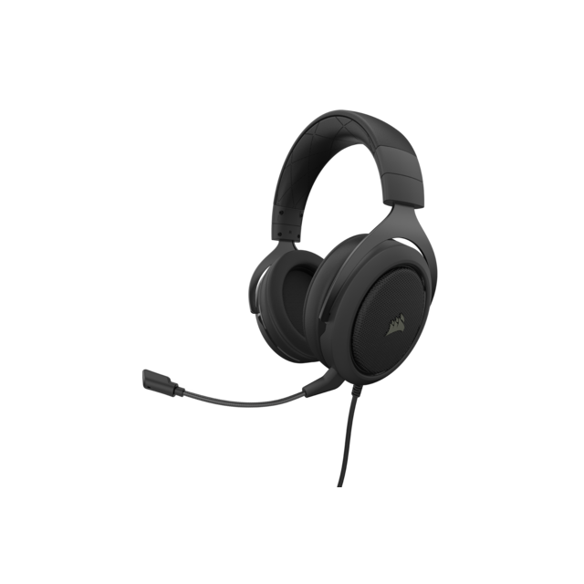 Corsair - HS50 PRO STEREO carbone - Filaire - Micro-Casque