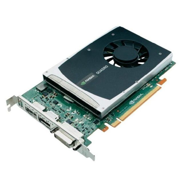 Hp - Carte HP NVIDIA Quadro 2000 612952-002 616075-001 1Go GDDR5 PCI-e DVI 2x Display Hp   - Occasions Carte Graphique