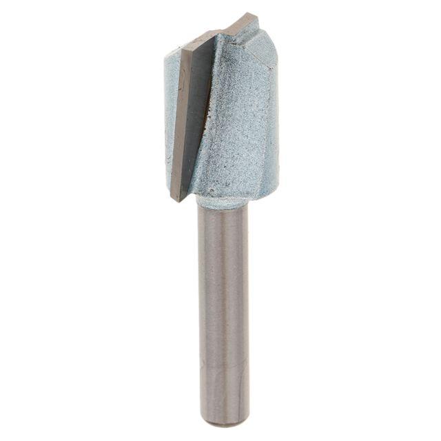 Micro-fraise 2 dents de précision en carbure de tungstène queue Ø3MM x 38MM