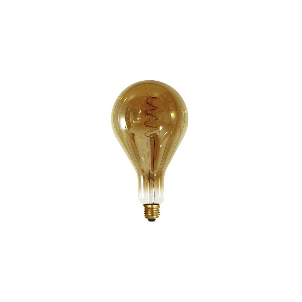 Girard Sudron Ampoule géante filament LED twisted 240mm 4W E27 2000K 160Lm dim Smoky