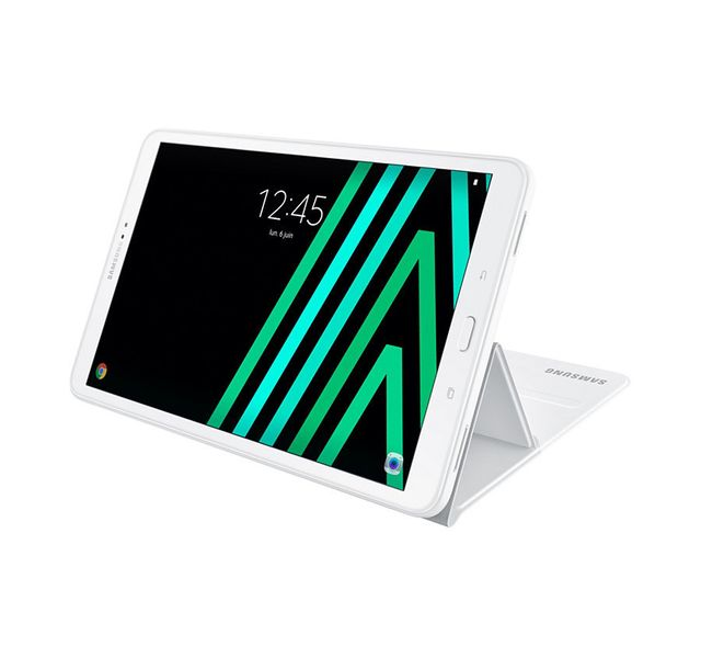 Housse, étui tablette Book Cover Galaxy Tab A 2016 10.1 - EF-BT580PWEGWW - Blanc