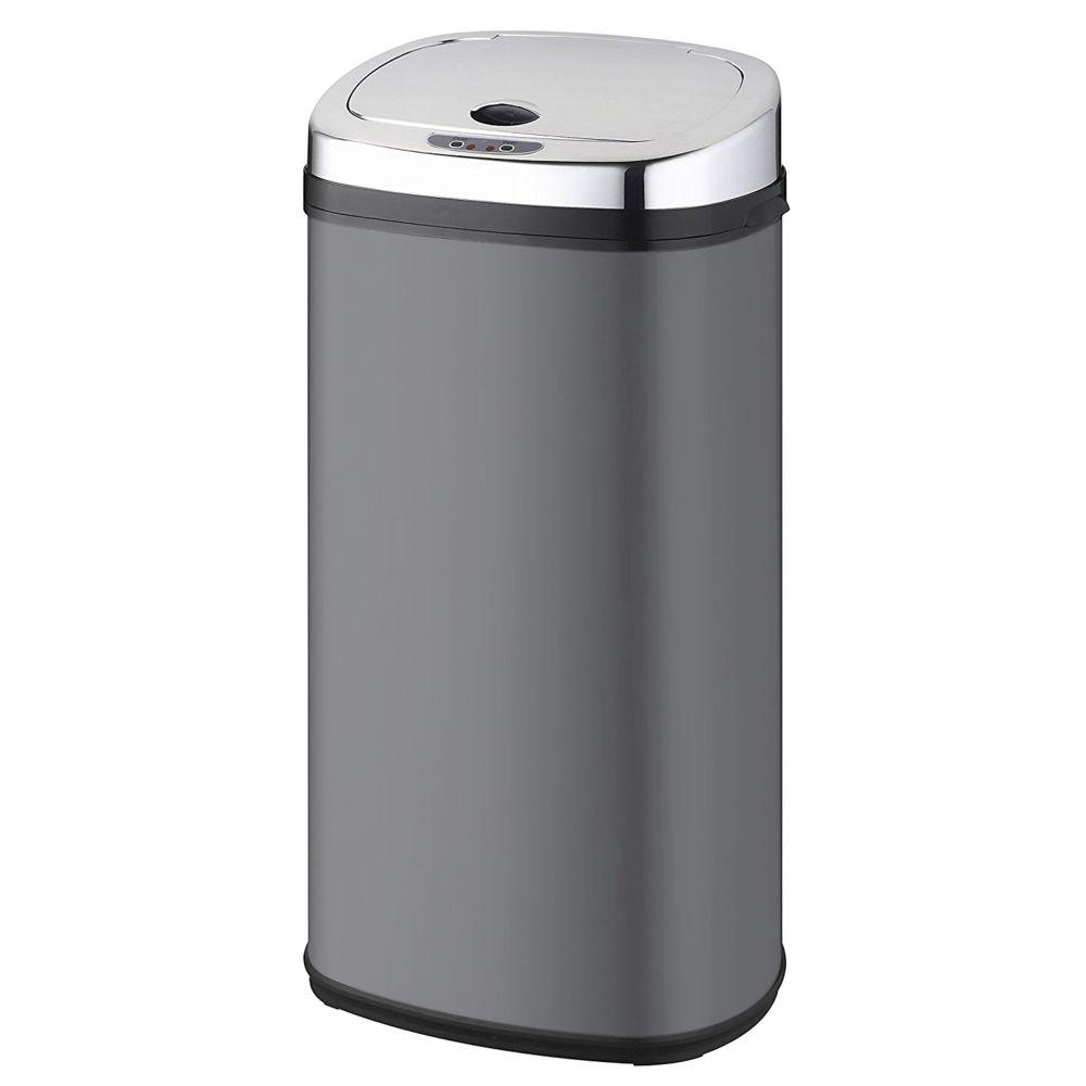 Kitchen Move kitchen move - poubelle automatique 42l gris/inox - bat-42ls02a grey ss