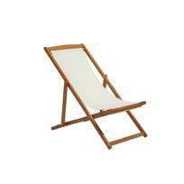 Chaise toile longue catalogue 20192020RueDuCommerce bois pGqMVSzLU