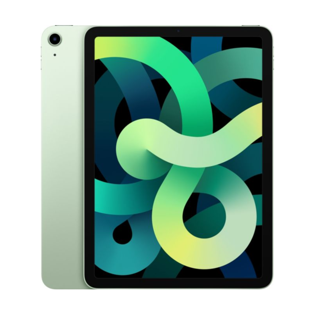 "Apple - iPad Air (Gen 4) - 10,9"""" - Wi-Fi + Cellular - 64 Go - Vert - Tablette tactile"