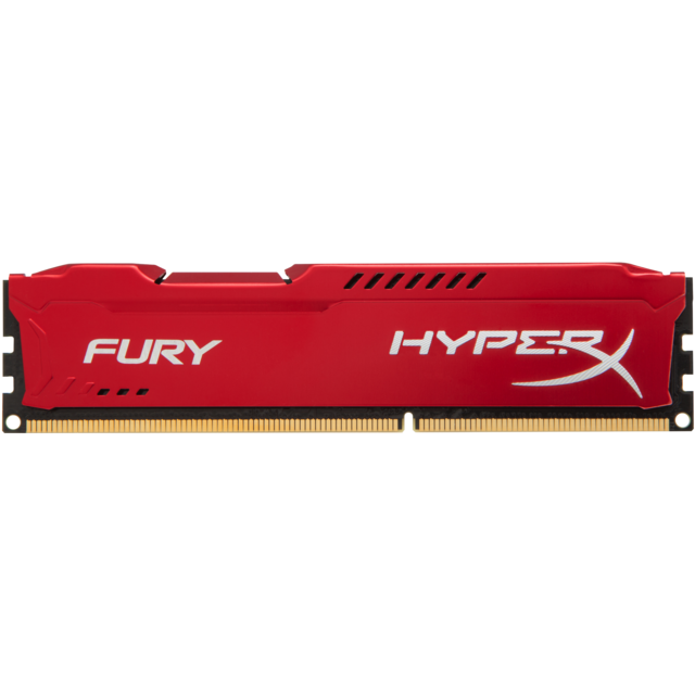 Hyperx - FURY Rouge 16 Go 3466 Mhz DDR4 CL19 - RAM PC Fixe Fury