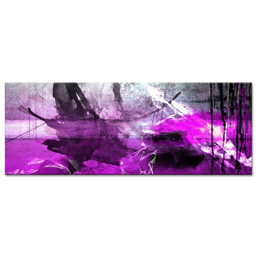Declina Tableau toile abstraite tâches de couleur - Déco de salon design