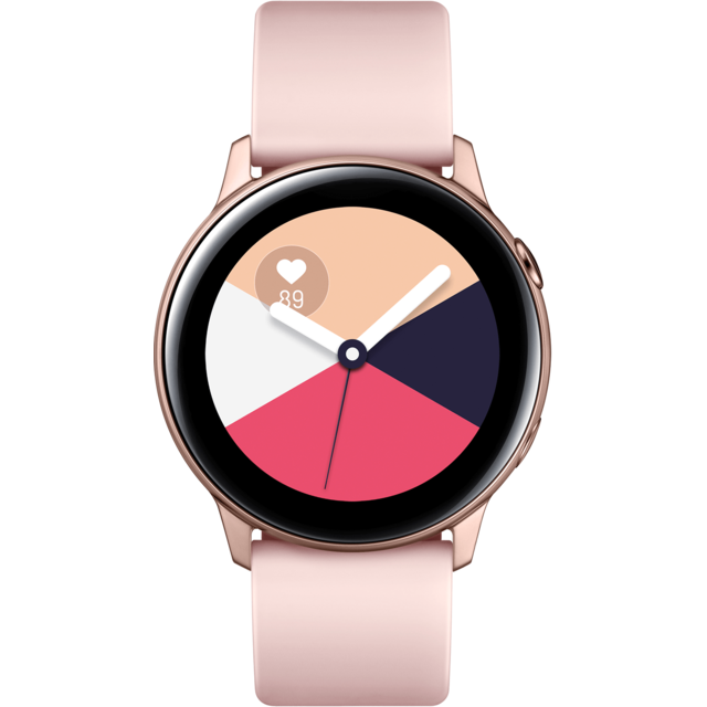 Samsung -Galaxy Watch Active - Rose Poudré - 40 mm Samsung  - Objets connectés