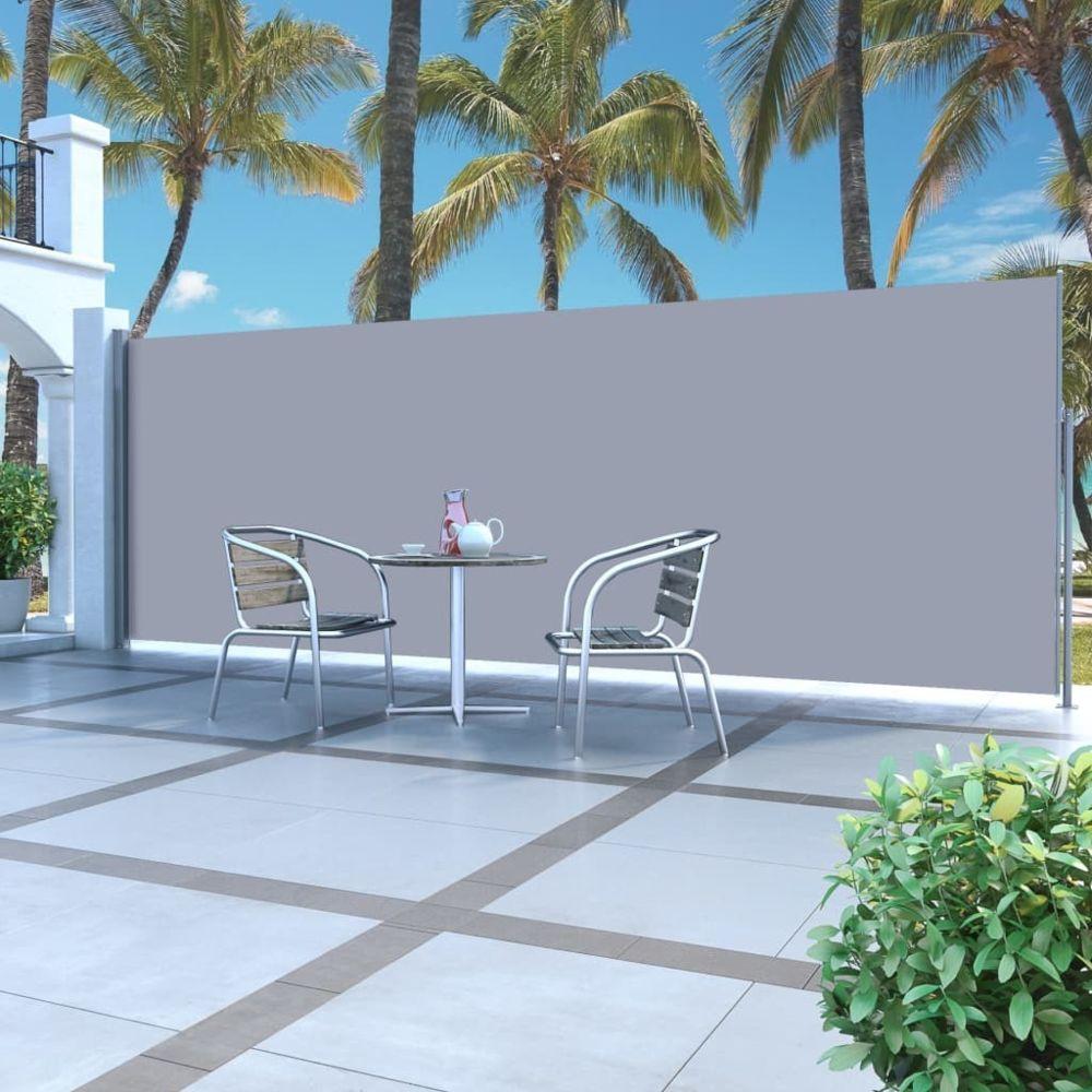 Vidaxl Auvent latéral rétractable 160 x 500 cm Crème - Pelouses et jardins - Vie en extérieur - Parasols et voiles d'ombrage |