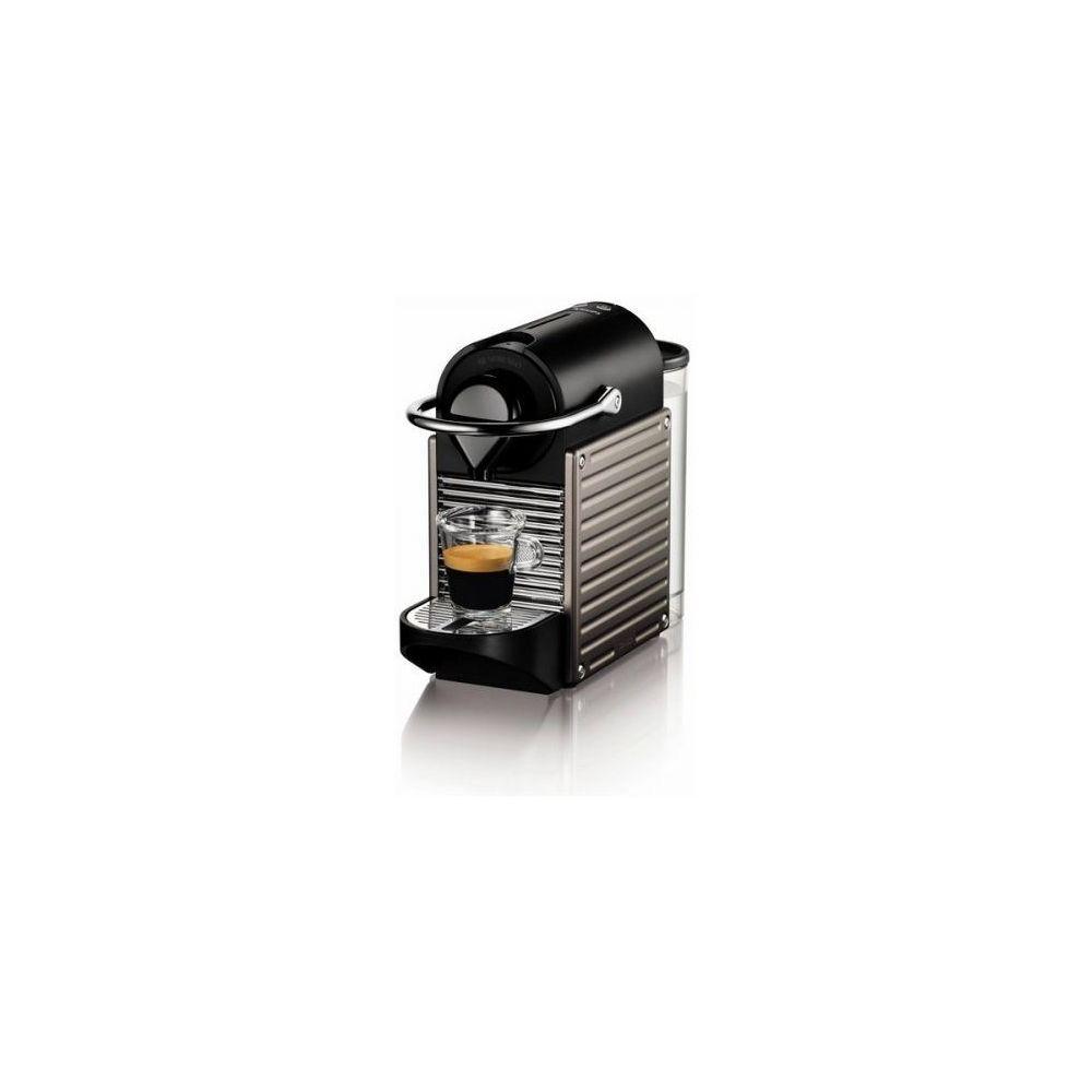 Krups Cafetière à capsules Nespresso Krups XN304T - 1260W Titane
