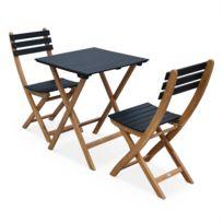 Soldes Table pliante noire - 2e démarque Table pliante noire ...