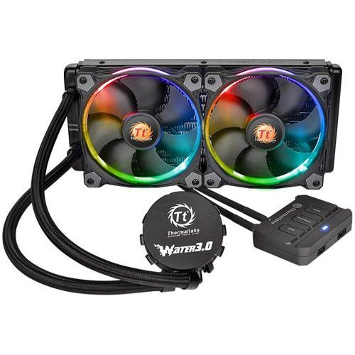Thermaltake - Thermaltake Water 3.0 Riing RGB 280 - Bonnes affaires Watercooling