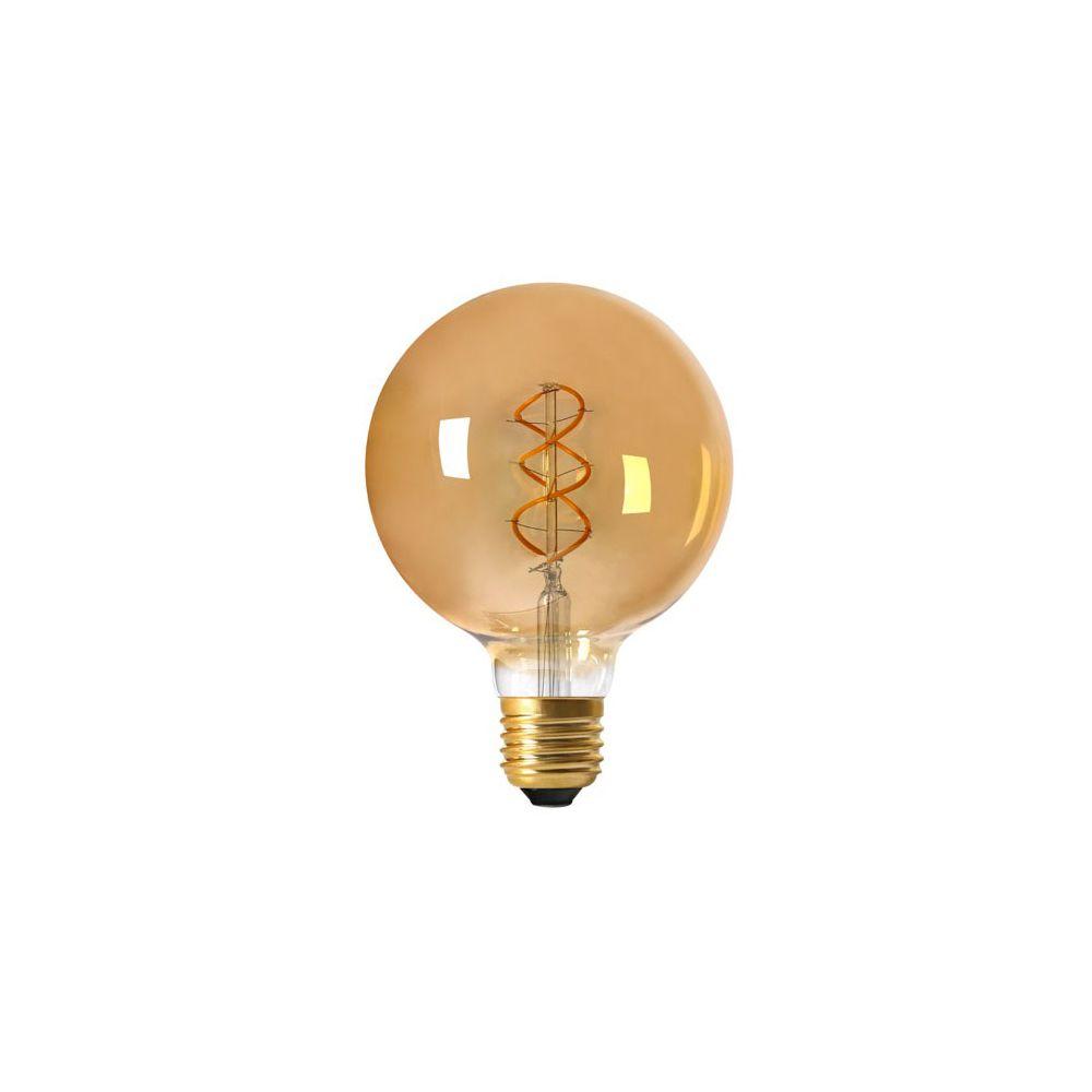 Girard Sudron Globe G125 Filament LED TWISTED 4W E27 2000K 200Lm Dim. Amb.