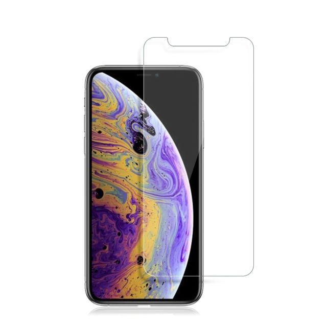 Protection écran smartphone Wewoo Film de verre trempé mocolo 0.33mm 9H 2.5D pour iPhone XS / X (transparent)