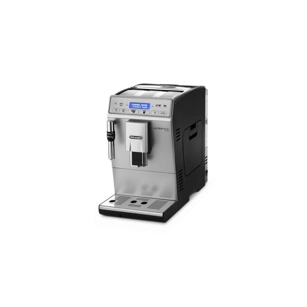 Delonghi machine à expresso avec écran et broyeur pour Café en grains et moulu 1450W gris