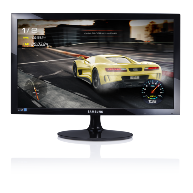 "Samsung - 24"""" LED S24D330 - Moniteur PC Gamer"