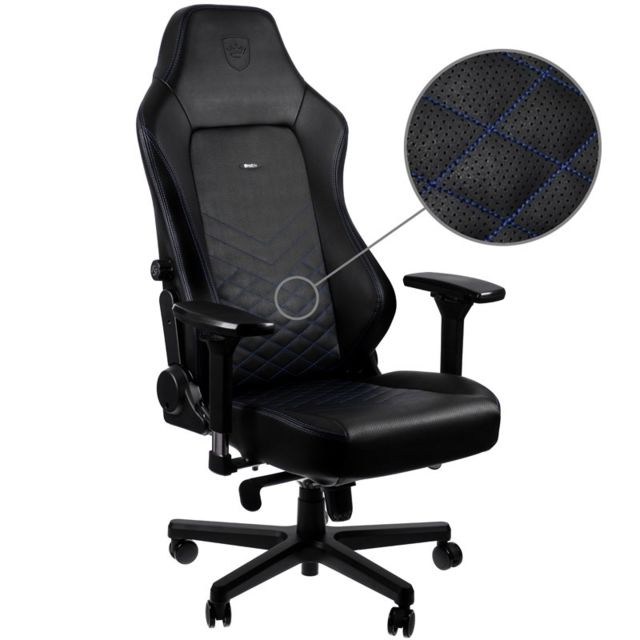 Noblechairs - HERO - Noir/Bleu - Chaise gamer