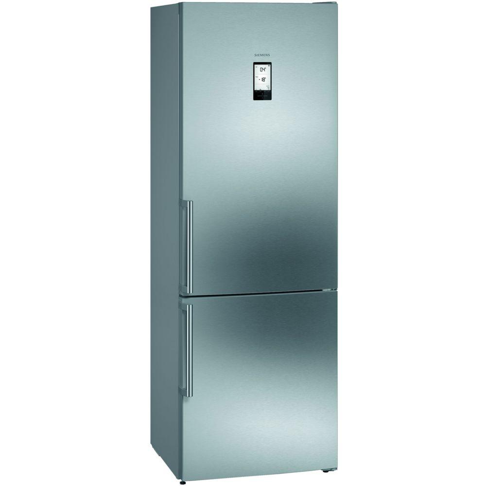 Siemens siemens - réfrigérateur combiné 70cm 435l a++ nofrost inox - kg49naiea