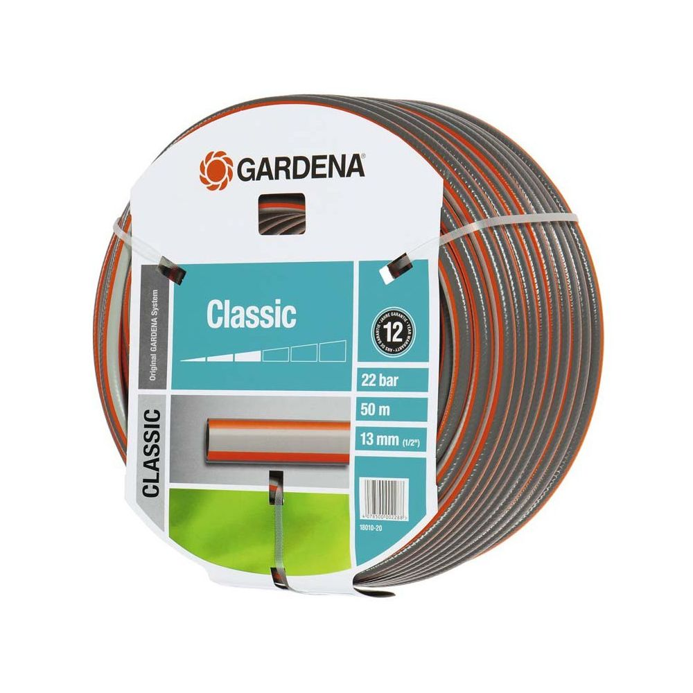 Gardena Gardena Tuyau Gardena Classic 13 mm (1/2 pollice), 50 m