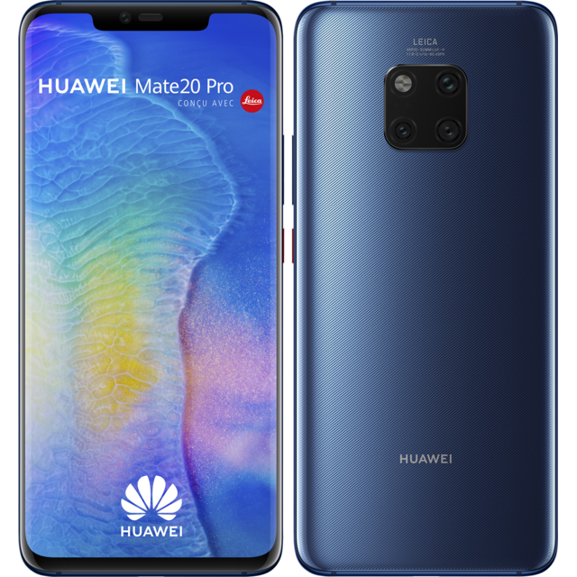 Huawei - Mate 20 Pro - 128 Go - Bleu - Smartphone Android 6.3 (16,0 cm)