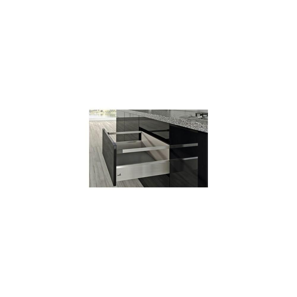 Hettich Kit arcitech 126 avec bandeaux hauteur 250 - Décor : Blanc - Longueur : 300 mm - HETTICH
