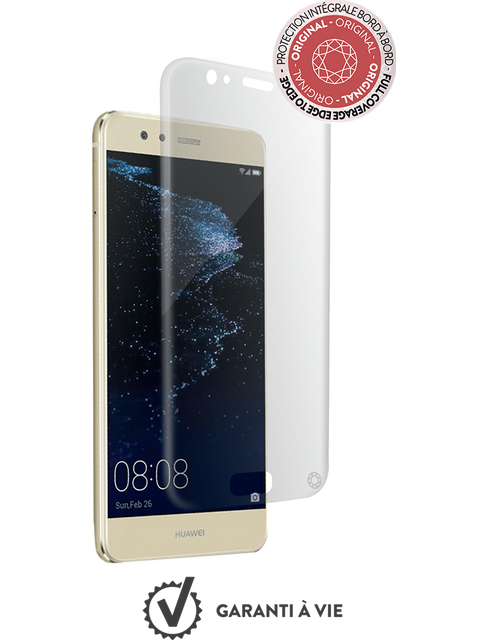 Protection écran smartphone Force Glass Verre trempé Huawei P10 Lite - Transparent