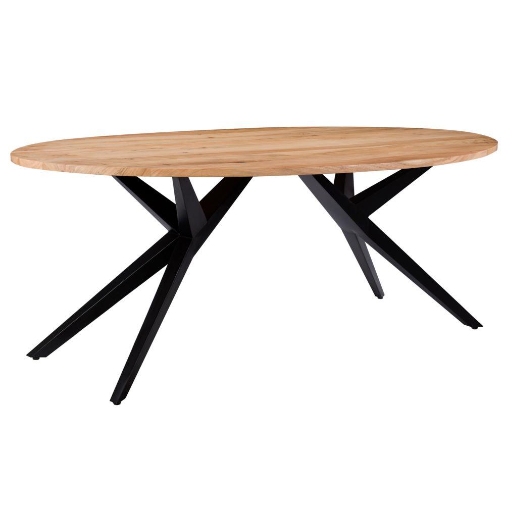Rendez Vous Deco Table ovale Matara 200 cm en bois