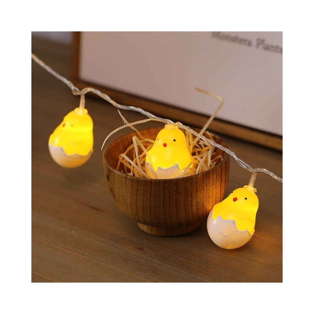 Wewoo Guirlande LED 3m mignonne poussin USB prise romantique chaîne vacances lumière, 20 LEDs adolescente style chaleureuse fé