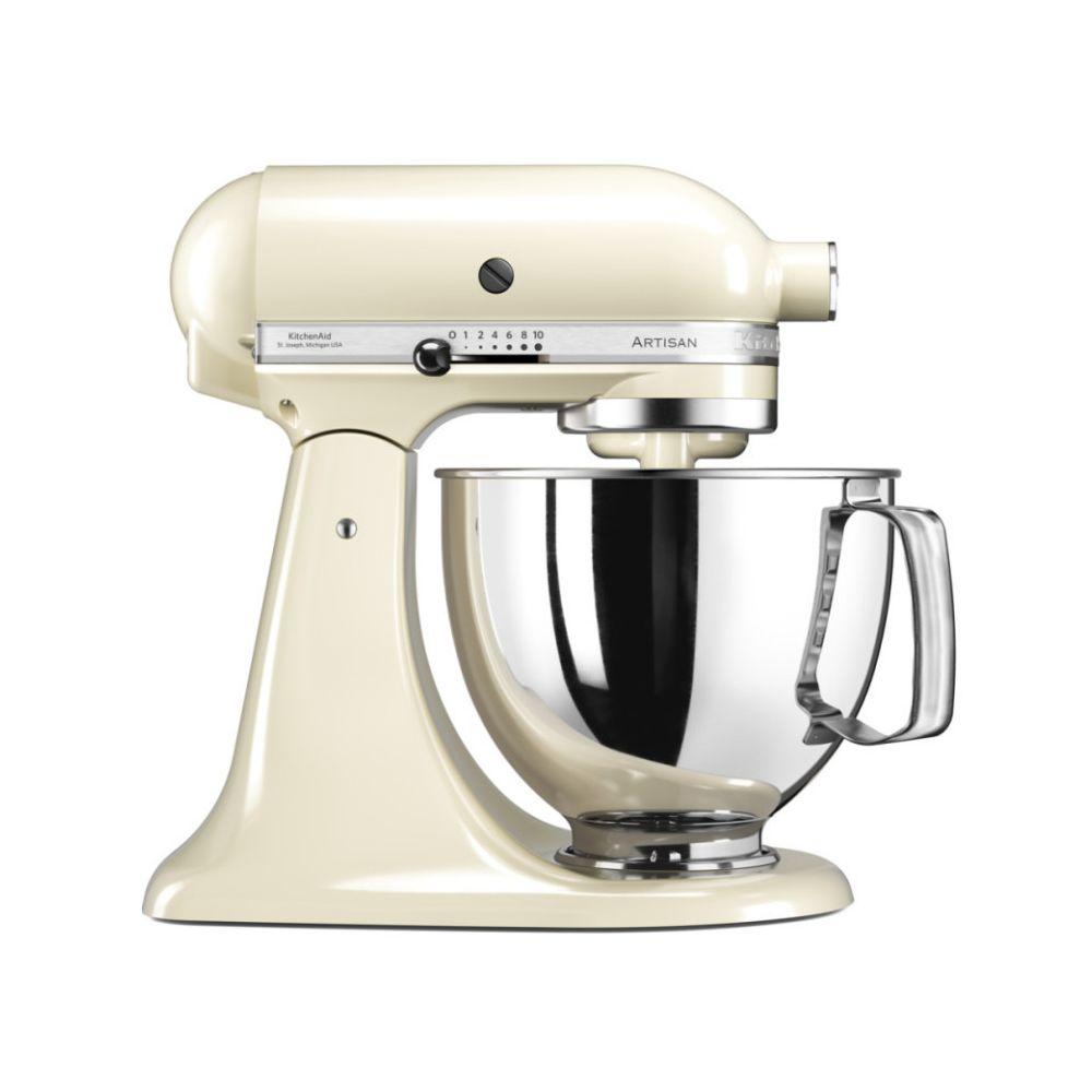 Kitchenaid kitchenaid - robot sur socle 4,8l 300w crème - 5ksm125eac