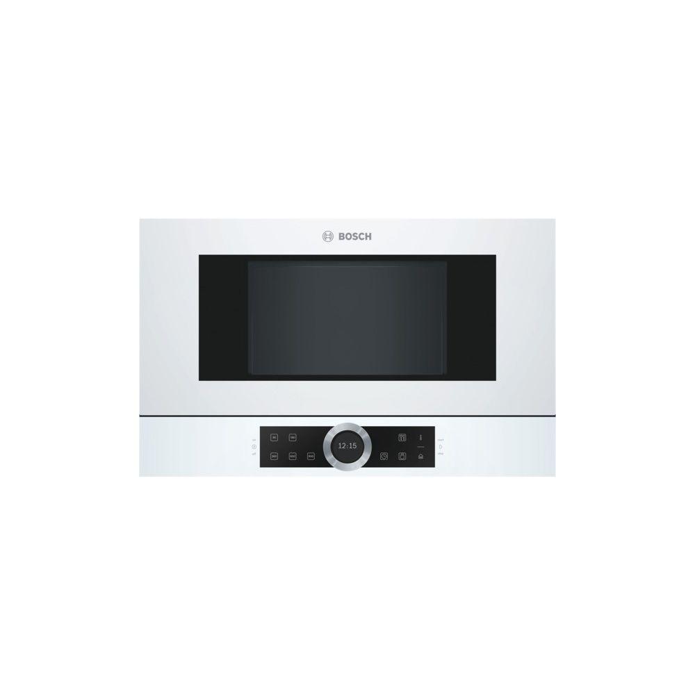 Bosch bosch - micro-ondes encastrable 21l 900w blanc - bfl634gw1