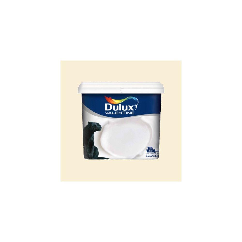 Dulux Valentine DULUX VALENTINE Peinture acrylique Crème de couleur Lin clair