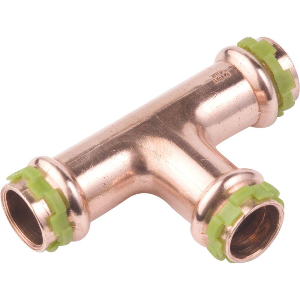 Comap té égal à sertir - pour tube cuivre - diamètre 42 mm - comap 5130vw42