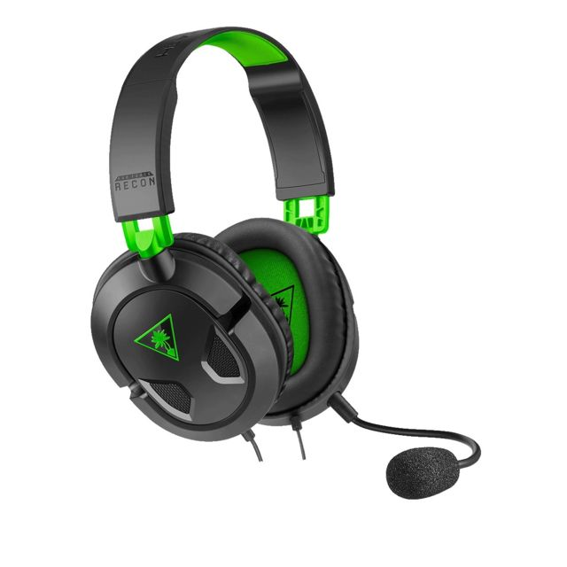 Turtle Beach - RECON 50X BLACK XBOX ONE - Micro-Casque Circum auriculaire