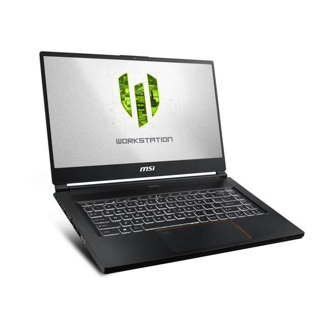 Msi - Workstation WS65 9TM-874FR - Noir - PC Portable